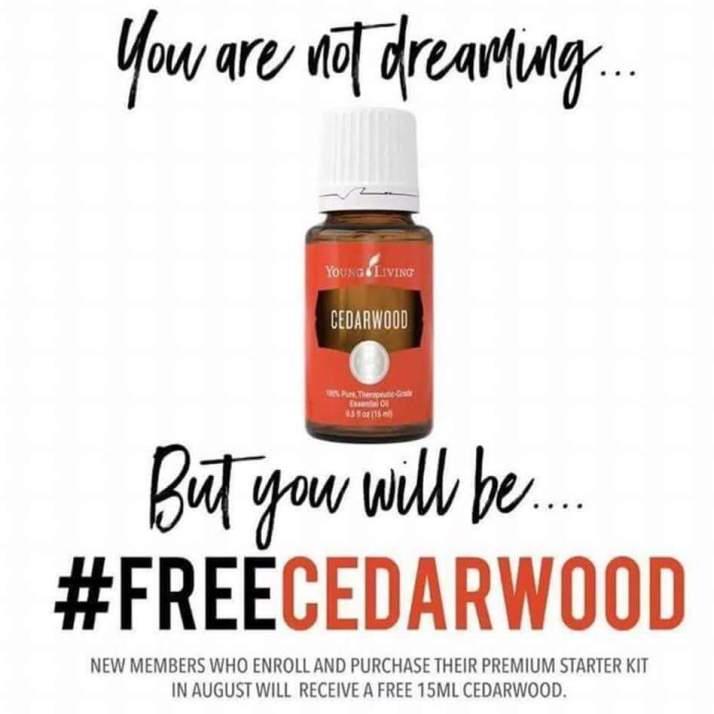 cedarwood promo